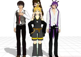 MMD newcomers by kaahgome