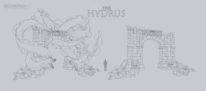 Hydrus Entrance (Concept) by ArtStudioAngel