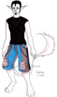 Zephyr Colored by fanchielover15