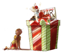 the biggest, the best gift ever by alpacasovereign