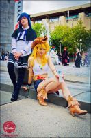 Sister Act - Panty and Stocking by Mostflogged