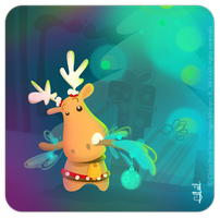 Robert the Reindeer by nocl3