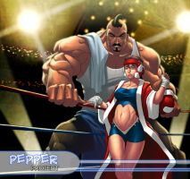 fight night pepper by PepperProject