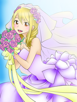 Lucy's wedding dress by KMO27