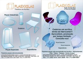 Flyer Plaxiglas by GuillermoMila