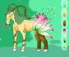 [Contest]Bloom Forest Horse by FeithLAuthor