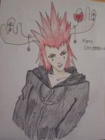 Merry Christmas - Axel by xCheshireGrin228