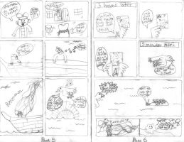 The Blob No.1 pages 5-6 by davids-sketchbook