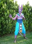 Beerus God of destruction cosplay by ugossj4