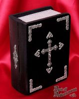 Reliquary Book Box by ArtOfAdornment