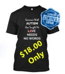 Autism Awareness T-Shirt Limited Edition by iloverifat