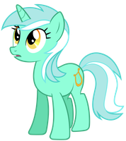 Lyra Vector (+Cutie Mark) by Pirill-Poveniy