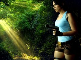 Miss Croft and the Jungle TRA by Jessie-TR