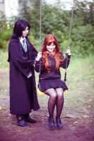 Severus and Lily ~ Augenblick by OriyaPrince