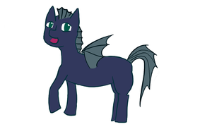 My first attempt on designing a pony OC by Yavos