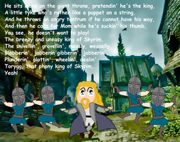 Ulfric Uses The Voice by NorroenDyrd