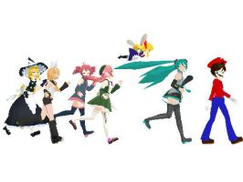 MMD Race by MrMario31095
