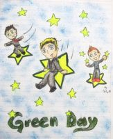 Green Day  in the stars by lytre98
