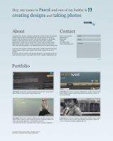 Single Page Layout by clackographix