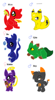 EGGS HATCHED xD by RoxytheTiger