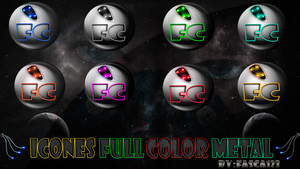 Pack Icones full color metal By: Fasca123 by FASsCA123