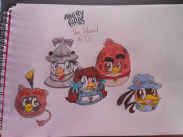 Angry Birds - Wizard of Oz by RussellMimeLover2009