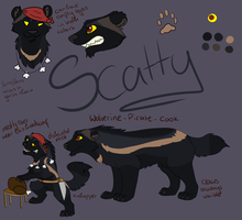 Scatty Ref Sheet by BlaideBlack