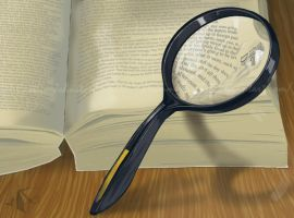 Magnifying Glass Study by DrummerGirl375