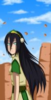 Toph Bei Fong by Chloeeh