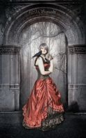 Lady of Crows by Sayashi-Stock