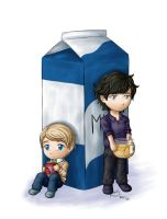 Sherlock BBC - Jam and Honey by claieth