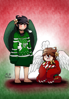 :SecretSanta: I Like Big Sweaters and I Cannot Lie by TwilightMoon1996