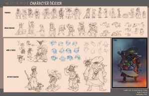 Character Design by wyd1985