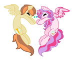 Cloud Crush and Hopper Breedable by xXFluffyBishXx