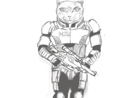 Shepard cat by firdauz