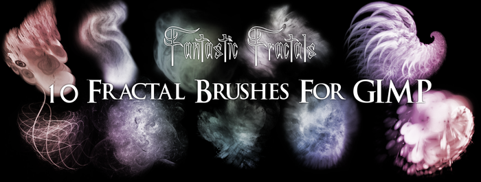 Fractal Fantasy Brushes by PigMasterOra