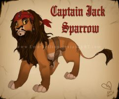 Captain Jack Sparrow Lion by Emo-Hellion