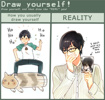Draw Yourself Meme by ROSEL-D