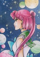 ACEO #125: Sailor Planet by MTToto