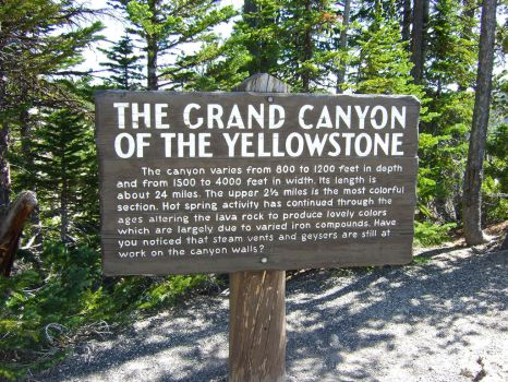 Grand-Canyon-of-Yellowstone-Sign by Trisaw1