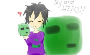 sly and hipo by Just-a-hipo