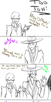Too tall!!! by Yandere-Offender