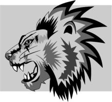 Lion - Vector by sayako-arts