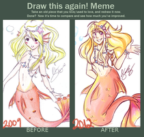 Draw This Again Meme by Pyonkotcchi