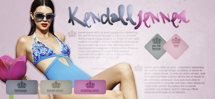 free header (Kendall Jenner) by designsbyroth