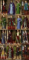 Kings of England from 1066 to 1485 by TFfan234