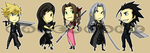 Stickers: Final Fantasy VII 1 by forte-girl7