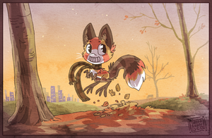 Fall fun by griffsnuff