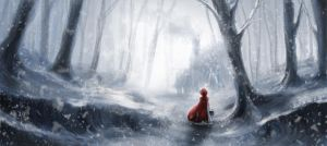 Red Riding Hood by lucyreynoldsart