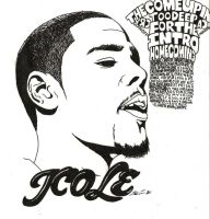J Cole by NickTheRain